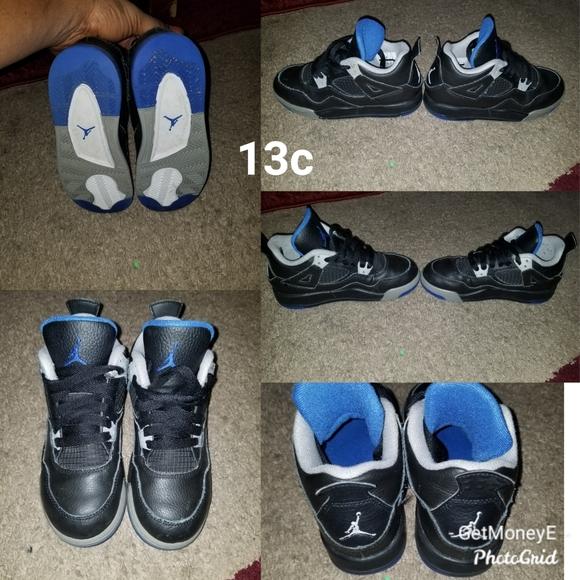 Jordan Shoes   Kids Sport Blue 4s